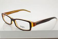 Legre LE-072 Col. 516 Burgundy Orange Eyeglasses Size 52-16-130 mm