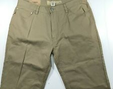 Ruffhewn Relaxed Fit Vintage Wash Pants For Men's 36x34 Tan NWT