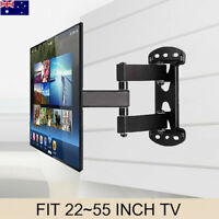 "32-55"" Solid Arm TV Wall Mount Bracket for Samsung Sony LG Panasonic Philips LED"