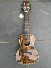 LAST ONE  Blackwater Uke. Concert Butterfly Wood Ukulele