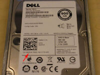 """Dell 900GB 10K 2.5"""" SAS 6Gbps Dell HDD For R610 Servers"""