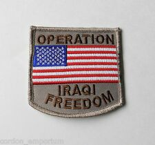 OPERATION IRAQI FREEDOM EMBROIDERED PATCH 2.5 INCHES