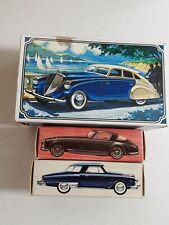3 Vintage Avon After Shave Car Bottles