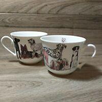 "Roy Kirkham ""Dogs Galore"" Fine Bone China Tea Coffee Mug Cup German Shepherd"
