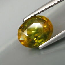 2.53 Carats Natural Blue Yellow SAPPHIRE for Jewelry Setting Oval Cut