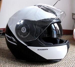 Schuberth C3 Pro Helmet Size 56 / 57 Medium + Additional Set of Small Cheek Pads