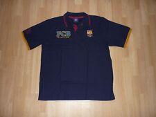 Roger´s FC BARCELONA Polo - Shirt, Gr. XXL dunkelblau mit Motiv, kurzarm, TOP!