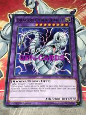 Carte Yu Gi Oh DRAGON CYBER JUMELE LEDD-FRB26