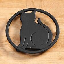 Cast Iron Cat Trivet, Cast Iron Trivet, Cat Love Trivet, Cat Lover Kitchen