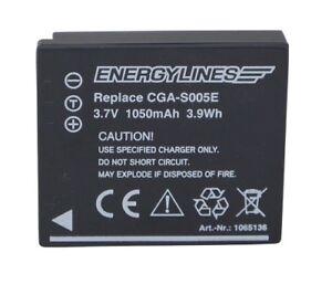 Accu Batterie Pour Panasonic CGA-S005; CGA-S005A; CGA-S005A/1B Energylines