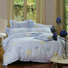 Alliums Lavender Duvet | Doona Quilt Cover Set by Sanderson | 4 Pieces | Double
