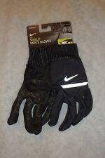 New NIKE Men's Black Shield Running Gloves Large