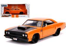 Jada 1:24 Big Time Muscle 1970 Plymouth Road Runner Orange Diecast Model 31325