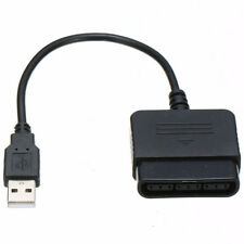 USB Controller Adapter Converter Cable Cord For Sony PlayStation PS2 To PS3 LE