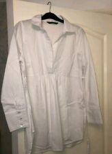Blooming Marvellous Maternity White Shirt size 12
