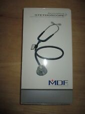 MDF INSTRUMENTS / acoustica stethoscope - ALL BLACK / NEW IN BOX