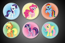 My Little Pony Pins Pinback Rainbow Dash Twilight Sparkle Pinkie Pie Collection