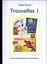 RARE EO N° PHILIPPE MOUVET  + FRANQUIN + HERGÉ + JACOBS  : TROUVAILLES N° 1