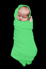 2 x  BABY  WRAPS    Extra Large,  Green , NEW