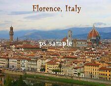 Italy - FLORENCE #2 - Travel Souvenir Fridge Magnet