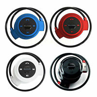 Wireless Bluetooth Headset Headphones Support FM TF For Samsung S10 S8 S6 iphone