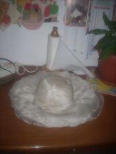 cappello donna da cerimonia vintage leggi misure e condizioni.....