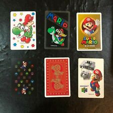 NINTENDO Super Mario Yoshi Swap Trump Deck Loose Cards Lot 6 JAPAN RARE