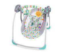 New listing Bright Starts Itsy Bitsy Jungle Portable Swing