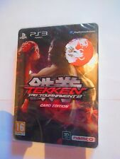 tekken tag tournament 2 card édition collector's  edition ps3 playstation 3 ps3