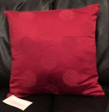X4 Traditional Red Cushion Cover-100% Cotton Pillow Case Home Sofa Decor 16 Inch