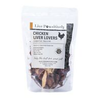 Live Pawsitively Chicken Liver freeze dried Single Ingredient pet treat 4 ounces