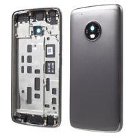 OEM Back Battery Housing Cover Part For Motorola Moto G5 Plus - Grey / Gold