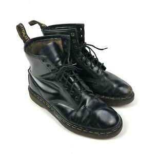 Vintage Dr Martens 30 Year Anniversary One In A Million Boot UK Size 9 Black