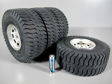 Rare New Set Tamiya RC 1/20 Mammoth 58268 Dump Truck Original Wheel Rims Tires