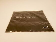 MONTBLANC Meisterstuck Solitaire Polishing Cloth for Silver and Vermeil Pens