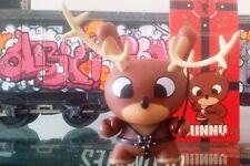 Figurine Spécial Noël Kidrobot Dunny Dominatrix Naughty Reindeer by Chuckboy