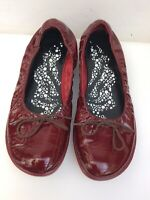 CAMPER Women's Patent Slip On Flat Shoes Pumps Ballerinas Size 38/5
