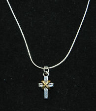 New BRIGHTON Sanctum Cross CALVARY charm on custom necklace  FREE SHIPPING !