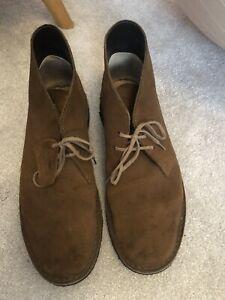 Clarks Originals Desert Boots Suede Size UK 10