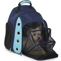 Pet Puppy Dog Cat Backpack Comfort Carrier Travel backpack shoulder bag PINK
