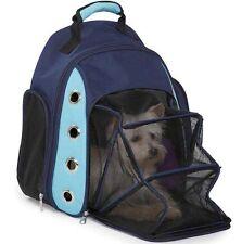 Pet Puppy Dog Cat Backpack Comfort Carrier Travel backpack shoulder bag PINK