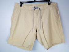 Men's Onia Sz 40 Tan Boardshorts Swimming Trunks Swim Outdoors STAINS