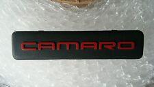 Chevy Camaro Interior Dash Emblem BADGE SIGN LOGO RED BLACK 1995-2002 95-02 OEM