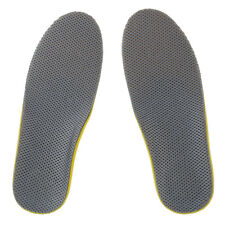 Comfortable Orthotic Shoes Insoles Inserts High Arch Pad (S) yellow+Gray N3