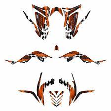 Raptor 700 graphics kit for 2006 - 2012 Thick 24 mil racing vinyl #3500 Orange