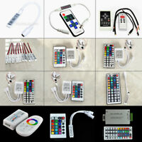 24 44 Key Music WiFi IR Remote Double Lines Controller For RGB Led Strip light