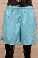 Costume NIKE Uomo Taglia XL Mare Piscina Pantaloncino Shorts Rete Kostüm Celeste