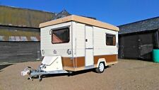FOLDING CARAVAN GOBUR CAROUSEL 12/2 LIGHTWEIGHT 2 BERTH TOILET GAS FIRE AWNING!