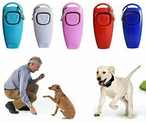 Clearance - 3pcs * Dog Training Clickers 2 in 1 Whistle and Clicker Pet Training