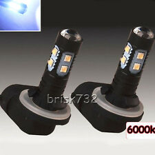 2X High Power LED Fog Driving Lights Bulb 881 862 886 889 894 896 898 White Hot